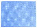 【期間限定ポイント5倍】バスタオル・プールタオル 平面タイプ 84x117 ロングサイズ 水玉(水色地に白ドット)(お着…