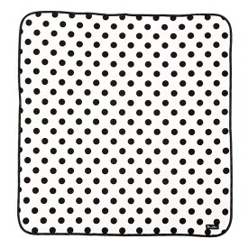 おくるみ・アフガン polka dot large(white) (赤ちゃん ベビー 新生児 出産祝い ギフト 女の子)