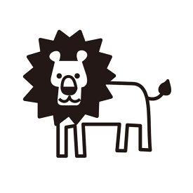 お名前スタンプ (気軽にシンプル 7本セット)ライオン 子供用 入園準備 入学準備 名前スタンプ 入園 なまえスタンプ セット 入園 お名前はんこ ひらがな