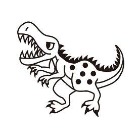 お名前スタンプ (安心スタンダード 15本セット)ティラノサウルス 子供用 入園準備 入学準備 名前スタンプ 入園 なまえスタンプ セット 入園 お名前はんこ ひらがな