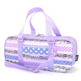 絵の具バッグ 子供用 画材バッグ 子供 絵の具 バッグのみ 単品 小学生 サクラクレパス 水彩 画材 小学校 かわいい コンパクト 水玉リズム パープル 女の子