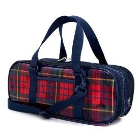 絵の具バッグ 子供用 画材バッグ 子供 絵の具 バッグのみ 単品 小学生 サクラクレパス 水彩 画材 小学校 かわいい コンパクト タータンチェック・レッド レッド 男の子