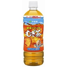 伊藤園 健康ミネラルむぎ茶 600mlPET×24本入り麦茶 ペットボトル 増量 お茶 健康ミネラルむぎ茶