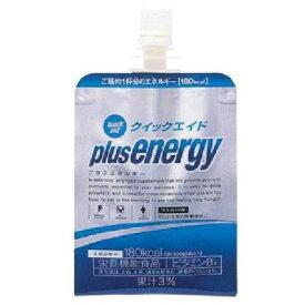 【富永食品 クイックエイドプラスエネルギー 180g×30袋】 ゼリー飲料 栄養補給