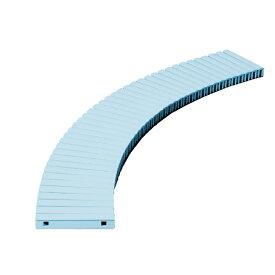 テラモト 樹脂グレーチング (プール用) 150mm幅 150×1000mm ブルー MR-074-015-3