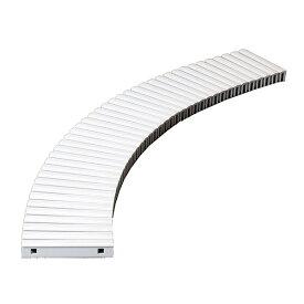 テラモト 樹脂グレーチング (プール用) 150mm幅 150×1000mm ホワイト MR-074-015-8