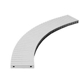 テラモト 樹脂グレーチング (プール用) 250mm幅 250×1000mm グレー MR-074-025-5