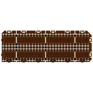 山崎産業 樹脂システムマット ブラシライン450 DBR(ダークブラウン) 150×450mm F-225-6-DBR