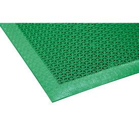 山崎産業 ブイステップマット7 #18 900×1800mm G(緑) F-207-18-G