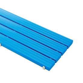 【単品配送】 山崎産業 YSカラースノコ・セフティ抗菌(キャップ付き) M型 BL (ブルー) F-115-3-M-BL