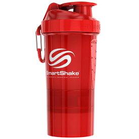 プロテインシェイカー SmartShake ORIGINAL2GO 600ml シェーカーボトル プロテインシェーカー スマートシェイク オリジナルシリーズ レッド
