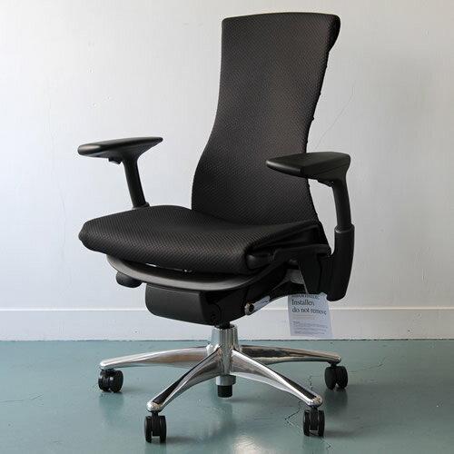 hmpg01 herman miller herman miller embody chair embody polished aluminum graphite balance black