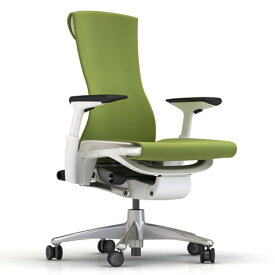 XW-08 Herman Miller ハーマンミラー Embody Chair エンボディチェア(チタニウム×ホワイト)バランス:グリーンアップル【送料無料】_dp05