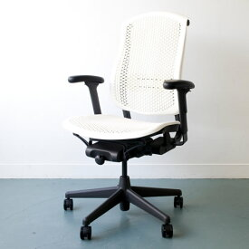 C-03 Herman Miller ハーマンミラー セラチェア Celle Chairs (ホワイト×グラファイトカラーベース)ファブリック無し 【送料無料】_dp05