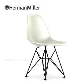 ハーマンミラー イームズシェルサイドチェア ブラックベース ホワイト EB-2 Herman Miller Eames Shell Side Chairs DSR DSR.BK ZF E8【送料無料】_dp05