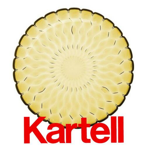 Kartell (カルテル) JELLY PLATE プレート/イエロー JELP-1226-E1 ジェリー テーブルセンタープレート ●_dp15