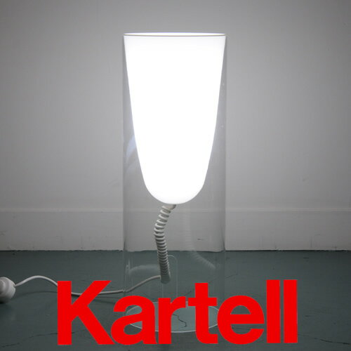 Kartell (カルテル) Toobe トゥービー 9065 ランプ/クリア(クリスタル) TOBE-9065-B4 ●