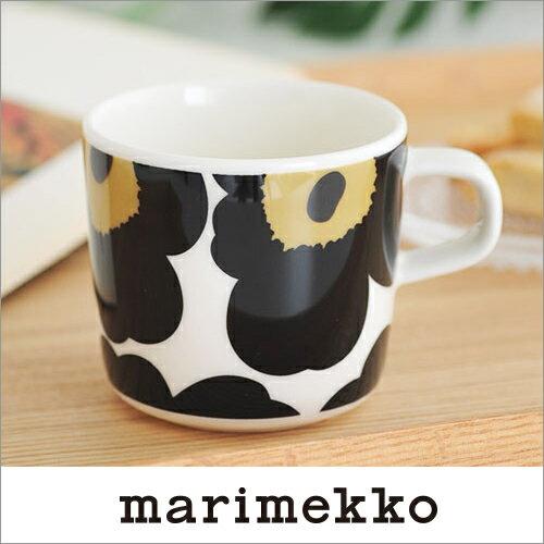 marimekko UNIKKO コーヒーカップ/ブラック 99(030)【63429】マリメッコ ウニッコ _dp10_mp10_sp10