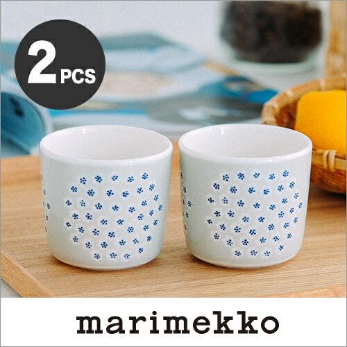 marimekko PUKETTI ラテマグ スモール 2個セット【67286】82 ベージュ コーヒーカップ マリメッコ プケッティ_wh _n _mp10