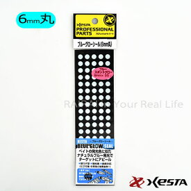 XESTA ブルーグローシール 6mmドット 1枚入 W50 x H175 mm【着後レビューでステッカープレゼント】