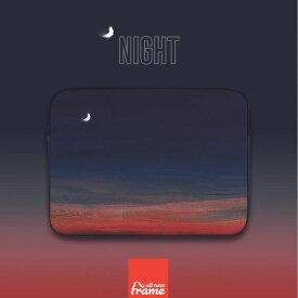 All New Frame Night PCケース 11インチ macbook air ケース macbook ケース macbook ポーチ マックブック ケース マックブック ポーチ 11インチポーチ 11インチ ケース