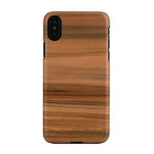 iphoneXケースMan&WoodCappuccino天然木iphonexケースiphonexカバーiphoneハードケーススマホケース天然木ケース