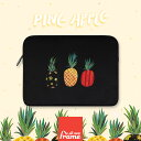 All New Frame Pineapple - black PCケース 13インチ macbook pro 13 ケース macbook 13インチ ケース macbook ケース macbook ポーチ 13インチパソコン ポーチ surface pro surface laptop surface ケース surface ポーチ macbook air 13 ケース