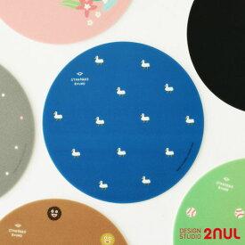 2nul Standard Round (Mouse Pad) マウスパッド オシャレ デスク ポイント 気分転換 デザインパッド かわいい
