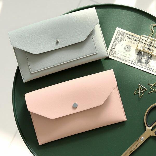 【15%OFF クーポン付】カードケース Funnymade Double Pocket Clutch カード入れ ポーチ 保険証入れ ポイントカード収納 スペア収納 小銭入れ