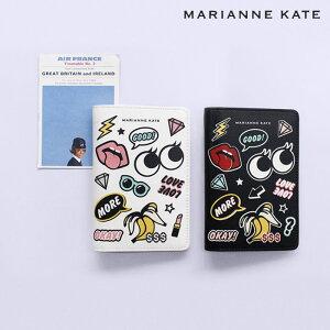 【期間限定50%OFFクーポン】MARIANNE KATE STYLE PASSPORT CASE パスポートケース かわいい 可愛い パスポート 旅行用品 トラベル用品 旅券 かわいい シンプル 面白い 薄い