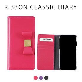 iphone xs ケース LAYBLOCK Ribbon Classic Diary 手帳型 本革 iphoneケース iphone x カバー iphone x ケース iphone xs ケース 手帳 iphonex 手帳型ケース iphonex 手帳