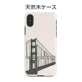 【10%OFFクーポン付】iphone xs ケース Man&Wood Hand Bridge 天然木 iphone xs ケース iphonex カバー iphone x ケース iphoneハードケース スマホケース 天然木ケース