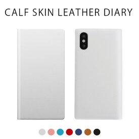 iphone xs ケース SLG Design Calf Skin Leather Diary 手帳型 本革 iphoneケース iphone x カバー iphone x ケース iphone xs ケース 手帳 iphonex 手帳型ケース iphonex 手帳