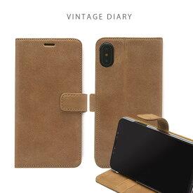 iphone xs ケース ZENUS Vintage Diary 手帳型 本革 iphoneケース iphone x カバー iphone x ケース iphone xs ケース 手帳 iphonex 手帳型ケース iphonex 手帳
