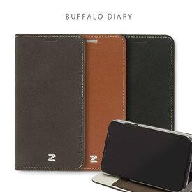 iphone xs ケース ZENUS Buffalo Diary 手帳型 iphoneケース iphone x カバー iphone x ケース iphone xs ケース 手帳 iphonex 手帳型ケース iphonex 手帳