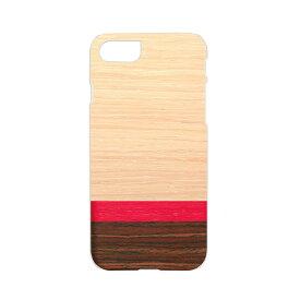 iPhone8 ケース iphone7 ケース 天然木 Man&Wood Rosewash iphone7ケース iphone7 カバー スマホケース スマホカバー アイフォンケース 木材ケース オシャレケース 個性的なデザイン 軽い iphone8ケース iphoneケース 木 自然
