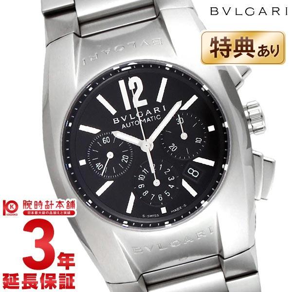 【最大1万円OFFクーポン!15日0時から】BVLGARI [海外輸入品] ブルガリ エルゴン クロノグラフ オートマチック ブラック EG35BSSDCH メンズ 腕時計 時計