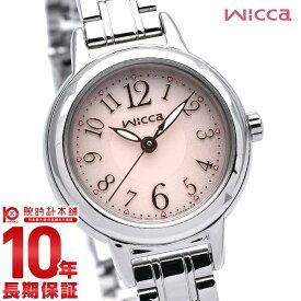 wicca シチズン ウィッカ ソーラーテック KH9-914-91 [正規品] レディース 腕時計 時計【あす楽】