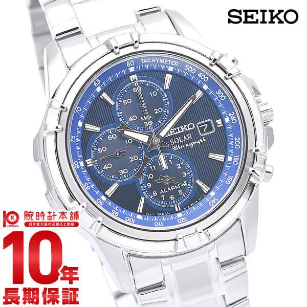 セイコー 逆輸入モデル SEIKO ソーラー 100m防水 SSC141P1 [正規品] メンズ 腕時計 時計