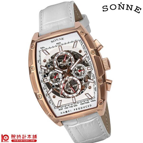 【ポイント20倍】ゾンネ SONNE ゾンネ×ハオリ 岩城滉一 コラボモデル H018PG-WH [正規品] メンズ 腕時計 時計