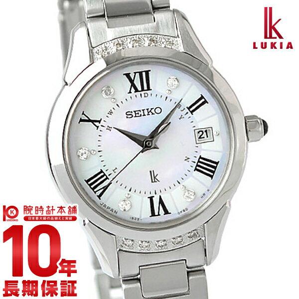 【8000円割引クーポン】セイコー ルキア LUKIA ルキアヤセ 綾瀬はるか限定モデル SSVW115 [正規品] レディース 腕時計 時計【36回金利0%】