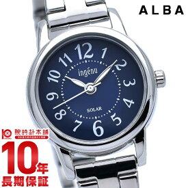 セイコー アルバ アンジェーヌ ソーラー レディース 腕時計 AHJD402 SEIKO ALBA ingenu ネイビー 時計【あす楽】