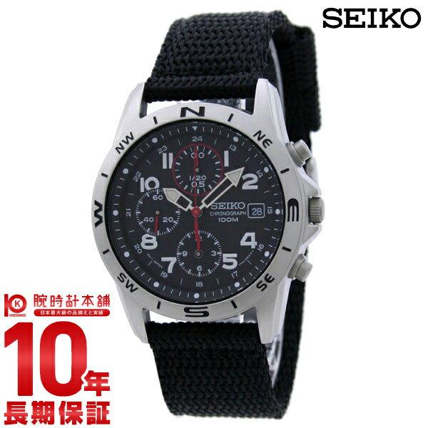 セイコー 逆輸入モデル SEIKO クロノグラフ 100m防水 SND399P1(SND399P) [正規品] メンズ 腕時計 時計