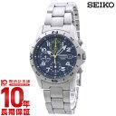 セイコー 逆輸入モデル SEIKO クロノグラフ 100m防水 SND379P1(SND379P) [正規品] メンズ 腕時計 時計【あす楽】