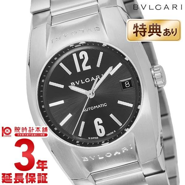 【ポイント最大4倍!19日23:59まで】BVLGARI [海外輸入品] ブルガリ エルゴン ブラック 自動巻 EG35BSSD メンズ 腕時計 時計