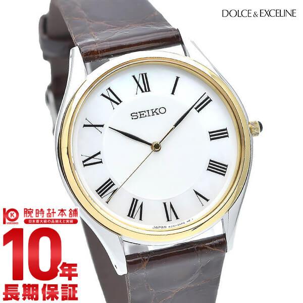 【ポイント最大13倍!19日23:59まで】セイコー ドルチェ&エクセリーヌ DOLCE&EXCELINE SACM152 [正規品] メンズ 腕時計 時計【36回金利0%】【あす楽】