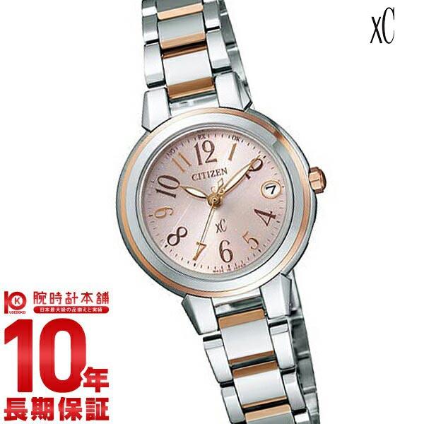 シチズン クロスシー XC ソーラー電波 エコドライブ ES8034-57W [正規品] レディース 腕時計 時計【36回金利0%】【あす楽】