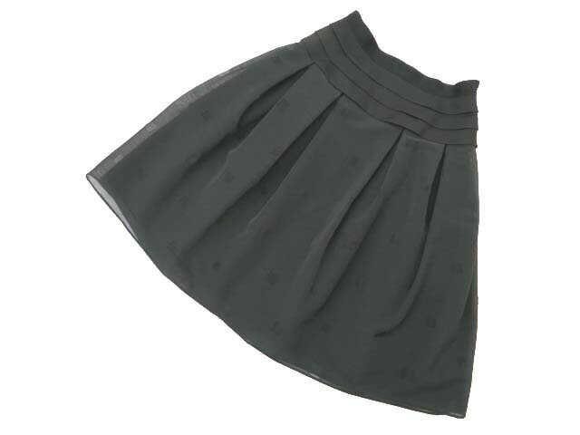 FOXEY BOUTIQUE 37711 Skirt(Little Black) ブラックブラック 38 S2【中古】