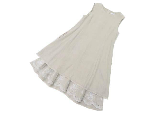 FOXEY BOUTIQUE 38365 Dress(Summer Dream) ナチュラル 38 A1美品【中古】
