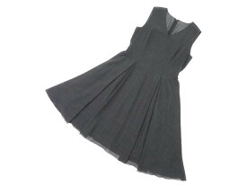 DAISY LIN for FOXEY 06030 Dress(WASHABLE V) リッチグレー 42 S1【中古】